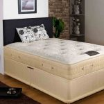 Joseph Bubbles 2000 Pocket Sprung Divan Bed-King Size-End Opening Ottoman