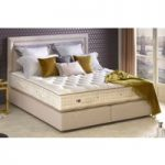 Vispring Tiara Superb Mattress and Divan Set – Emperor 202 x 200cm – 6ft 6inches – Low Divan – 25cm