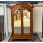Eclectic Wardrobe with Mirror – Ex Display – 2 Door