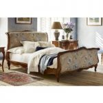 Louis XV Upholstered Bed – King 150 x 200cm – 5ft